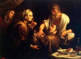 Джоаккино Ассерето. Благословение Иакова