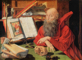 Маринус ван Реймерсвале. Св. Иероним