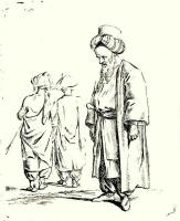 Даниэль  Николай Ходовецкий. Три турка