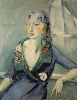 Кес Ван Донген. Женщина в платке