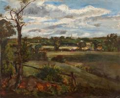 Вид на Хайгет с Хэмпстедских холмов