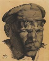 Николай Иванович Дормидонтов. Голова шахтёра