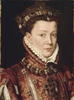 Антонис ван Дасхорст Мор. Елизавета Валуа, королева Испании, жена Филиппа II