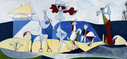 Pablo Picasso. The joy of life. Pastoral