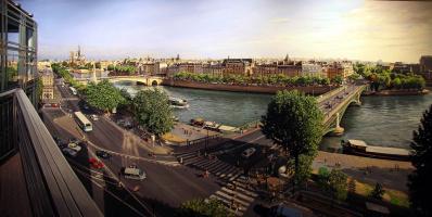 Robert Nuffson. Bridges in Paris