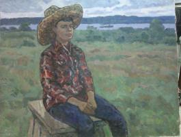 Leo Nikolayevich Zemskov. Grandson