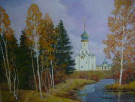Yuri Nikolaevich Svechnikov. Church of the Trinity-Sergius Lavra