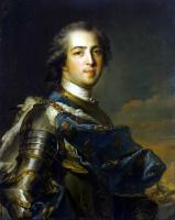 Жан-Марк Наттье. Портрет Людовика XV