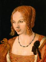 Альбрехт Дюрер. Портрет молодой венецианской женщины