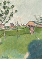 Луи Анкетен. Сад в окрестностях Жизора. 1886