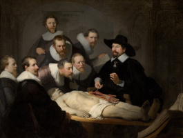 Rembrandt Harmenszoon van Rijn. The anatomy lesson of Dr. Nicolaes Tulp
