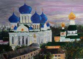 Яна Котт. Николо-Перервенский монастырь. Мосвка