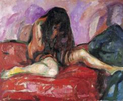 Edvard Munch. Nude I