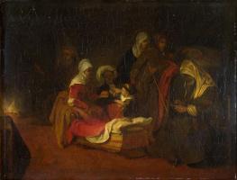 Фабрициус Барент. Именование святого Иоанна Крестителя