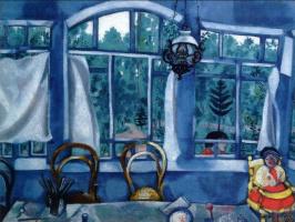 Марк Захарович Шагал. Окно в сад
