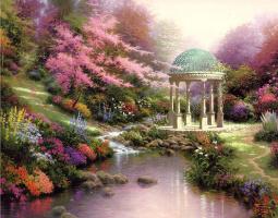 Thomas Kincaid. Pools of serenity