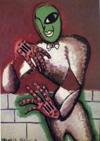 Франсис Пикабиа. Зеленый человек