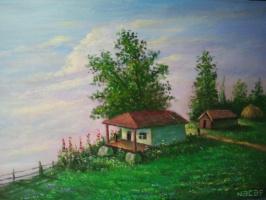 Наджаф Мамедов. Село  шивла