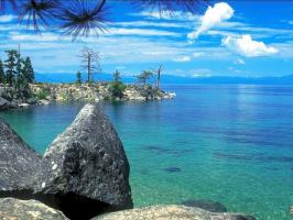 Джох Кагая. Пляж