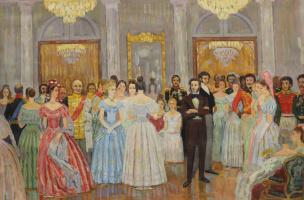 А.С. Пушкин в Москве.