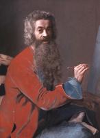 Жан-Этьен Лиотар. Автопортрет с мольбертом