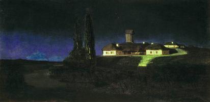 Arkhip Ivanovich Kuindzhi. Ukrainian night
