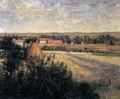 Лила Кэбот Перри. Пейзаж в Нормандии