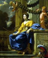 Симон Вуэ. Аллегорический портрет Анны Австрийской