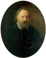 Николай Николаевич Ге. Портрет писателя Александра Ивановича Герцена