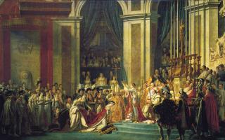 Коронация Наполеона в соборе Нотр-Дам 2 декабря 1804  года