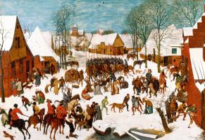 Pieter Bruegel The Elder. The massacre of the innocents