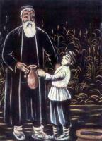 Нико Пиросмани (Пиросманашвили). Крестьянин и его сын