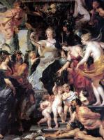 Peter Paul Rubens. Happiness of the Regency