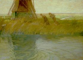 Чарльз Вудбери. Зеленая мельница