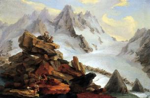 Caspar Wolf. Landscape