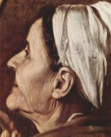 Микеланджело Меризи де Караваджо. Мадонна Лорето. Фрагмент