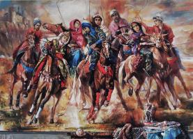 """Chingiz Abassov. """"Човган"""" национальная Азербайджанская игра"""