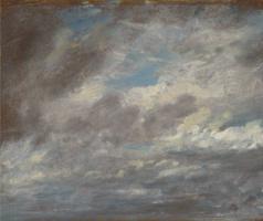 John Constable. Clouds Etude