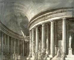 Пьетро ди Готтардо Гонзага. Храм с колоннадой-ротондой