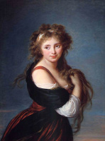 Элизабет Виже-Лебрен. Портрет маркизы Габриэллы Ролан