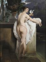 Франческо Айец. Венера с двумя голубями (Портрет балерины Карлотты Шабер)