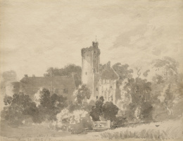 John Constable. Castle Caister, Norfolk