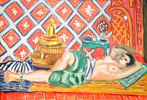 Henri Matisse. Lying Odalisque