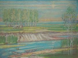Вячеслав Коренев. Пейзаж