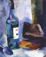 Роберт Рафаилович Фальк. Натюрморт с бутылкой