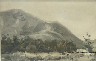 Anatoly Evstafievich Klimenko. Landscape