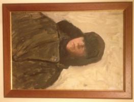 Fedor Savvich Shurpin. Portrait of a boy, C/m