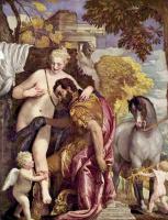 Паоло Веронезе. Венера и Марс, связанные Амуром