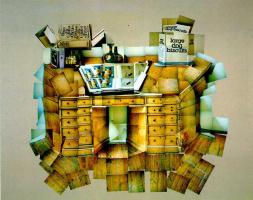 David Hockney. Table. July 1, 1984
