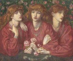 Данте Габриэль Россетти. Три Розы